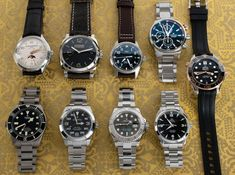 Another nine watches are live, coming from seven fine Swiss brands: Rolex, Omega, Panerai, Tudor, IWC, Baume & Mercier, and Maurice Lacroix.  Let our crew know if you have any questions! Baume Mercier, Popular Watches, Iwc, Mechanical Watch, Whats New, Tudor, Omega, Rolex, Clocks