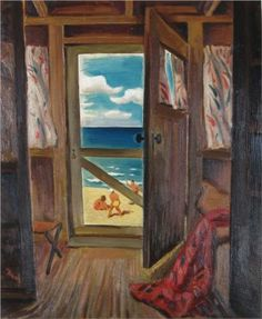 Summer Cottage - Jack Bush, 1942 Canadian artist Take a picture like this in michigan Jack Bush, Post Painterly Abstraction, City Landscape, Art For Art Sake, Canadian Artists, Love Art, Ramen, Illustration Art, Pictures