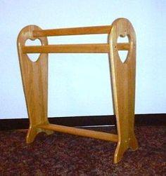 Winsome Quilt Rack Closet Organizer in Antique Walnut: simple ... : antique quilt rack - Adamdwight.com