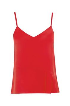 Silk Pleated Cami by Boutique