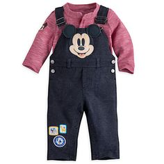 Mickey Mouse Dungaree Set for Baby | Disney Store