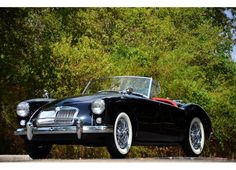 1958 MGA Roadster my dad had one and his best friend taught me to 2 Penney hot wire it.