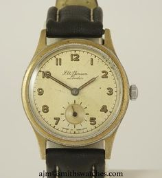 J W BENSON LONDON SMITHS EVEREST STLYE DENNISON AQUATITE CASED WRISTWATCH C 1953 We Watch, Will Smith, Range, London, Watches, Accessories, Cookers, Wristwatches, Clocks