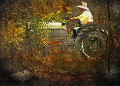 farmer brown. #tractor #photomorphis