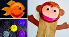 14 Animal craft projects for kids using paper plates - Creatistic Craft Projects For Kids, Animal Crafts, Craft Activities, Paper Plates, Diy, Inspiration, Children, Animals, Creative Ideas