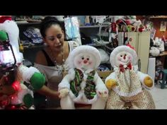 Vintage Christmas, Snowman, Xmas, Teddy Bear, Youtube, Country, Outdoor Decor, Diy, Christmas Sewing