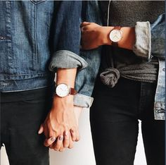 His and her Daniel Wellington Watches