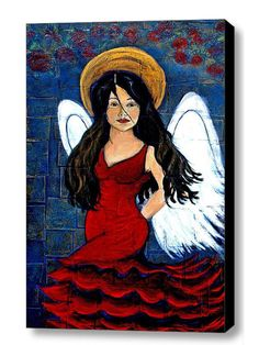 Fine Art Giclee Canvas Print  11 x 16   of  by theartwithaheart, $150.00