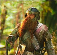 Gimli, son of Glóin (John Rhys-Davis)