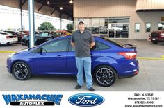https://flic.kr/p/HvfGT6 | Happy Anniversary to Justin  on your #Ford #Focus from Patrick Pennington at Waxahachie Ford! | deliverymaxx.com/DealerReviews.aspx?DealerCode=E749