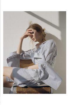 Viviane Michaelis photographed by Kirill Kuletski