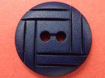 12 kleine KNÖPFE dunkelblau 15mm (2088-4) Knopf