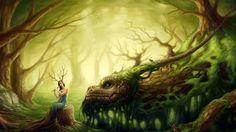 Guardian del bosque wallpaper