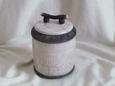 pot raku céramique grès arts de la table  artisanal fait main Jean-Pierre et Danièle Meyer