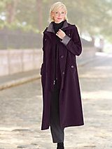 Long Silk-Look Raincoat and other Womens Raincoats at Appleseed?s. | Appleseeds