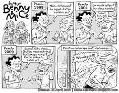 Kartun Benny & Mice: Edisi Pemilu 2009