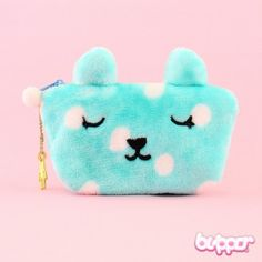 Kawaii Bunny Pouch - Blue - Pouches - Bags & Purses | Blippo Kawaii Shop