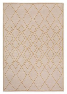 DECO DIAMOND LIGHT Tim Gosling Hand-knotted Tibetan wool and silk $134 per sq ft