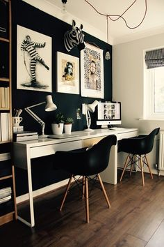 Jenny's Multi-Purpose, Monochromatic Office — Favorite Rooms | Apartment Therapy