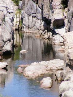 Mina Clavero, ríos en las altas cumbres - Córdoba, Argentina