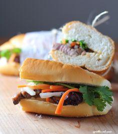 Lemongrass Pork Banh Mi