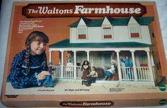 The Waltons Farmhouse- Why didn't I have one of these growing up?