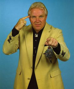 Bobby ' The Brain ' Heenan, the sharpest wit ever to grace the grappling business. Could happily listen to his wisecracks all day.