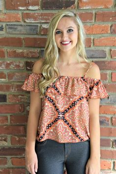 Cold-Shoulder Top | Topsy Turvy Boutique