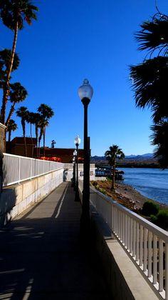 """River Walk In Laughlin Nevada"" by #Kay Novy    http://kay-novy.artistwebsites.com/featured/river-walk-in-laughlin-nevada-kay-novy.html"