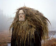 Playful Seniors Wear Organic Materials to Personify Nature - Google Search