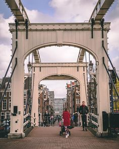Magere brug. This beauty goes over the Amstel River.