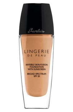 Free shipping and returns on Guerlain 'Lingerie de Peau' Invisible Skin-Fusion Foundation at Nordstrom.com. Guerlain fulfills the dream of the perfect foundation, so fusional that it can't be felt or seen. It melts with the skin as a second imperceptible wrapping to sublimate the complexion with no artifice, the most intimate lingerie dedicated to the skin.