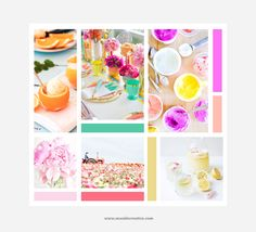 Spring Inspiration Board by Seaside Creative