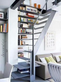 arquitrecos - blog de decoração: Escada Multiuso - Projeto Nota 10!!!