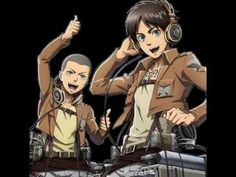 connie and eren's version of their theme song xD CANT STOP LAUGHING. THE ENDD i dont even understand whats going on at the start but this is so freakin funny