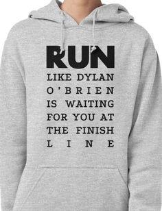 RUN - Dylan O'Brien  Pullover Hoodie