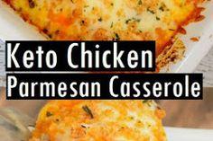 Keto Chicken Parmesan Casserole Recipe