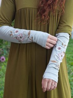 Tapestry Armwarmer | Bags and Accessories :Beautiful Designs by April Cornell