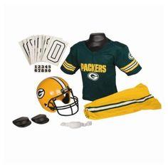 Green Bay #Packers Youth Helmet & Uniform Set. - $49.99