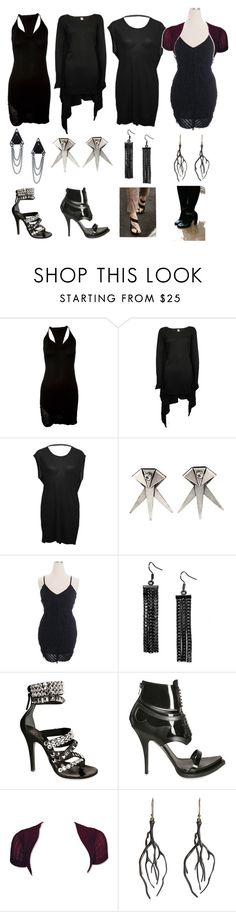 """Goths Surviving Summer IV"" by thebookofstyle ❤ liked on Polyvore featuring Raquel Allegra, Ksubi, T By Alexander Wang, DANNIJO, Fantasy Jewelry Box, Balmain, Givenchy, Annette Ferdinandsen and Zarah Voigt"
