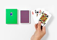 Solitaire 3.0 Game Playing Cards IRL - Design Milk