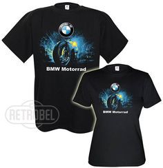 BMW Couples T-shirts/BMW Motorrad motorcycles/Short sleeve