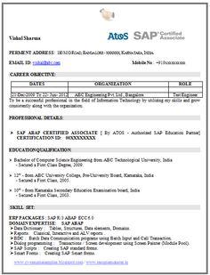Fresher ECE Resume Model     ECE Sample Resume
