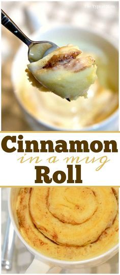 Easy 1 minute cinnamon roll in a mug instructions! I can't believe how simple this is and I didn't make this sooner! via @thetypicalmom