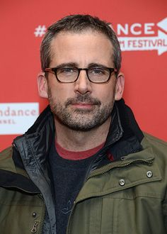 Steve Carell. Why does he almost look hot here?! It's amazing what facial hair can do for a man.