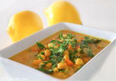 Spicy thaigryte med kikerter
