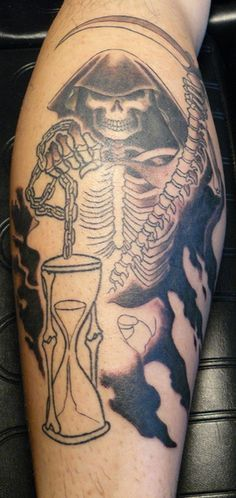 grim reaper tattoos (38)