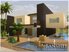 The Sims Resource: Banshee house by Alelong • Sims 4 Downloads