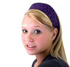 dark purple headbands for women
