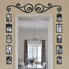 Amazon.com - Scroll and Picture Door Frame 12-Piece Set -